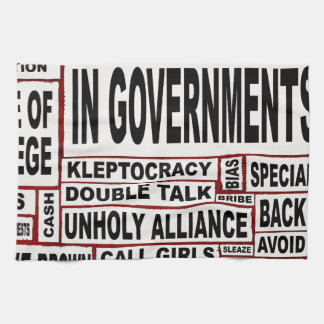 In Government Today Tea Towel