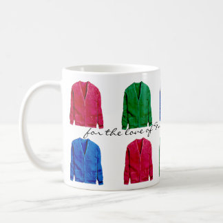 in honor of Mister Rogers - cardigan sweaters Mugs