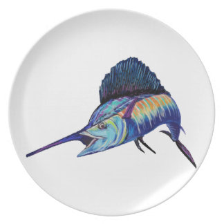 IN HOT PURSUIT DINNER PLATE