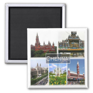 IN * India - Chennai Madras Magnet