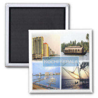 IN * India - Kochi Cochin Kerala Magnet