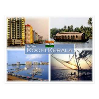 IN India -  Kochi Cochin Kerala - Postcard