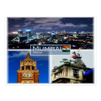 IN India -   Mumbai Bombay - Postcard