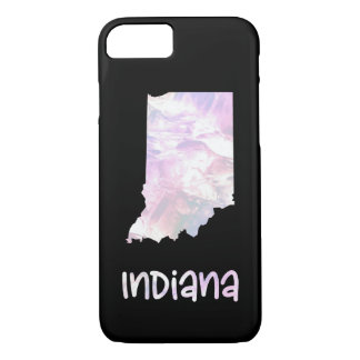 IN Indiana State Iridescent Opalescent Pearly iPhone 8/7 Case