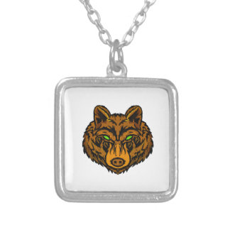 IN ITS VISION SILVER PLATED NECKLACE