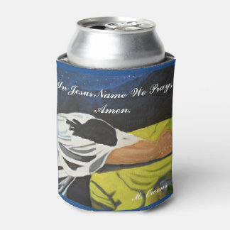 In Jesus Name We Pray Custom Can Cooler