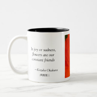 In joy or sadness... Two-Tone coffee mug