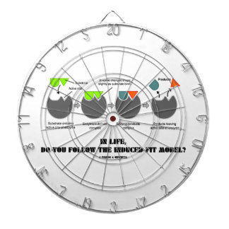 In Life, Do You Follow The Induced-Fit Model? Dartboards