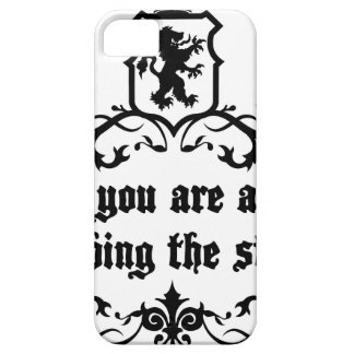 In Life You Are A Puppy Climbing The Stairs iPhone 5 Cover