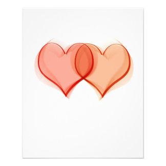 In love 11.5 cm x 14 cm flyer