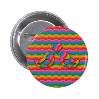 In Love 6 Cm Round Badge
