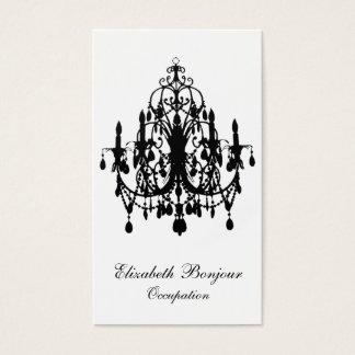 In Love Chandelier ~ Business Card