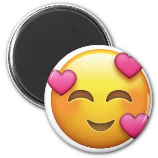 In love emoji magnet