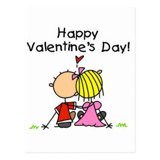 In Love Happy Valentine's Day Postcard