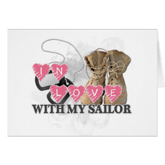 In love Sailor Card