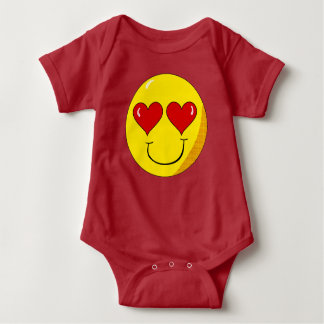 In Love Smiley Baby shirt