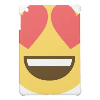 In love smiley emoji case for the iPad mini