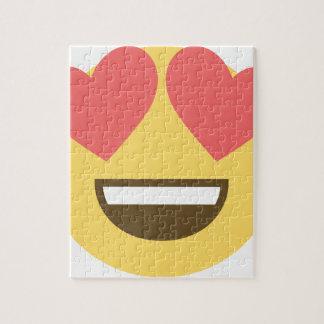 In love smiley emoji jigsaw puzzle