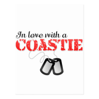 In love with a Coastie Postcard