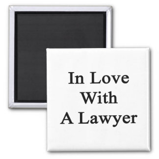 In Love With A Lawyer Refrigerator Magnet