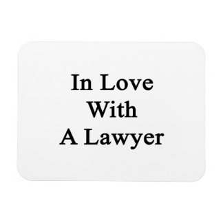 In Love With A Lawyer Flexible Magnet