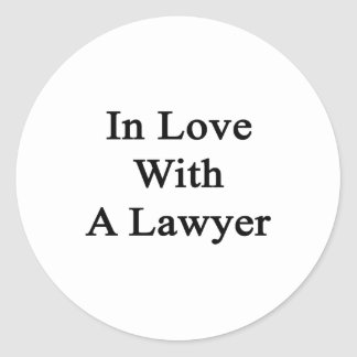 In Love With A Lawyer Stickers
