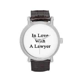 In Love With A Lawyer Wrist Watch