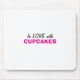 In Love with Cupcakes Mouse Pad