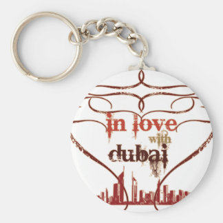 In Love with Dubai Key Ring