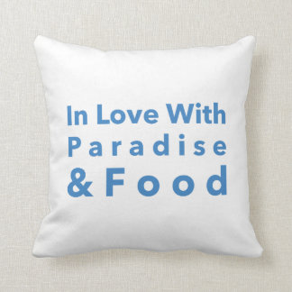 In Love with Paradise Pillow