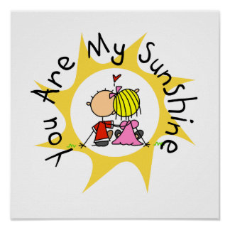 In Love You Are My Sunshine Poster