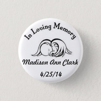 In Loving Memory 3 Cm Round Badge