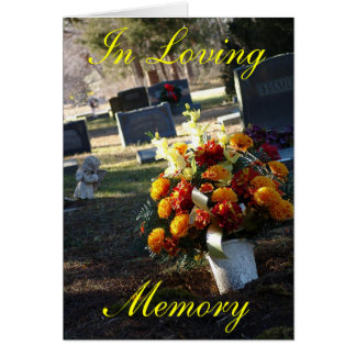 In Loving Memory Card