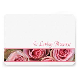 In Loving Memory Celebration of Life Invitation