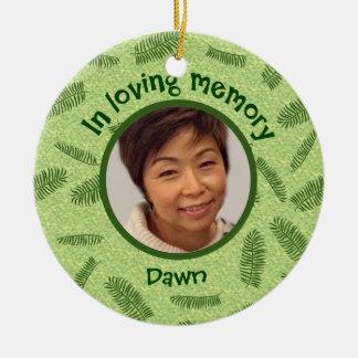 In Loving Memory Dawn Tamaribuchi Ceramic Ornament