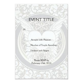In Loving Memory 9 Cm X 13 Cm Invitation Card