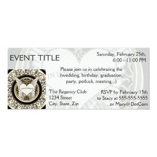 In Loving Memory 4x9.25 Paper Invitation Card