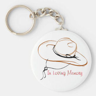 In Loving Memory Basic Round Button Key Ring