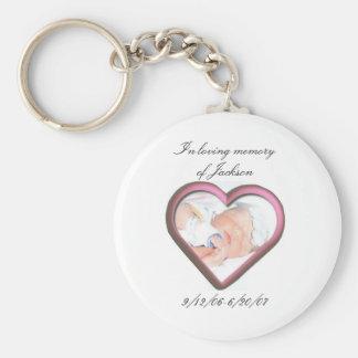 In loving memory of Jackson Key Ring