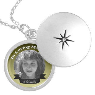 In Loving Memory Photo Necklace