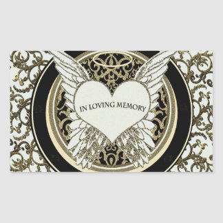 In Loving Memory Rectangular Sticker