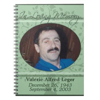 In Loving Memory / Remembrance Custom Guest book Note Book