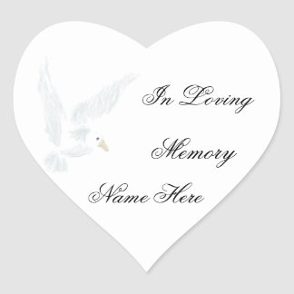 In Loving Memory Stickers