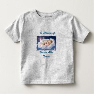 In Memory Braden Allen Terrell - Customized Toddler T-Shirt