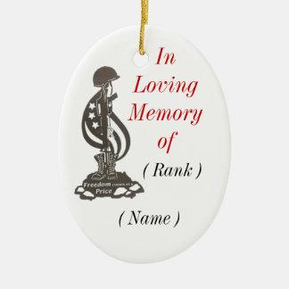 In Memory Christmas Ornament