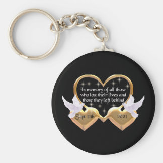 In Memory Of 9/11 Key Ring