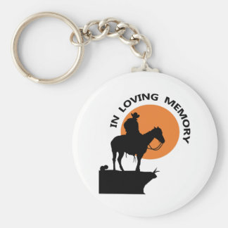 IN MEMORY OF A COWBOY KEY CHAINS