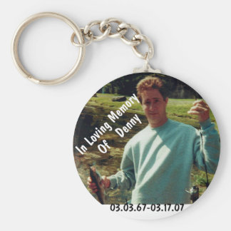 In memory of Denny Key Ring