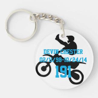 In memory of Devin Chester Key Ring