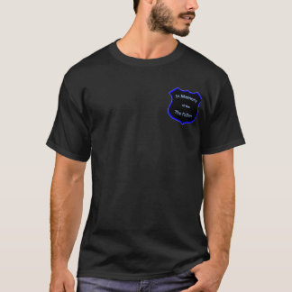 In Memory of Fallen Officers Cross T-Shirt